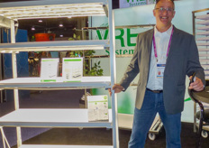 David Eygenraam with VRE Systems, the company that recently started a Dutch division.