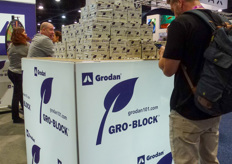 Grodan promoted their Gro-Block