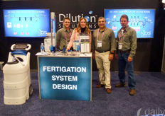 The fertigation system design of Dilution solutions was popular since many growers need a better way to control their water