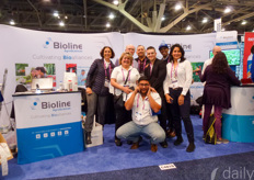 The Bioline family present at the show!
