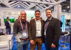 Michael Lee with Planti, Nico Niepce with Alweco & Craig Riesebosch with Westland Greenhouse Supplies