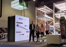 Present with their partners of Innovative Growers was the team with Valoya, showing their BX120 Solray fixture. Thanks to the wide spectrum optimized for high THC and CBD accumulation this LED grow light is popular amongst growers focusing on consistent yields and cannabinoid expressions.