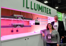 Illumitex represented by Staci Young & Joel Enne , showing the HarvestEdge line.