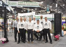 The team with Stuppy Greenhouse