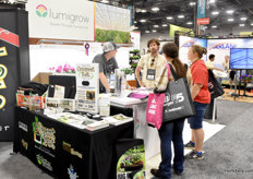 A lot of attention for the Lumigrow fixtures & solutions